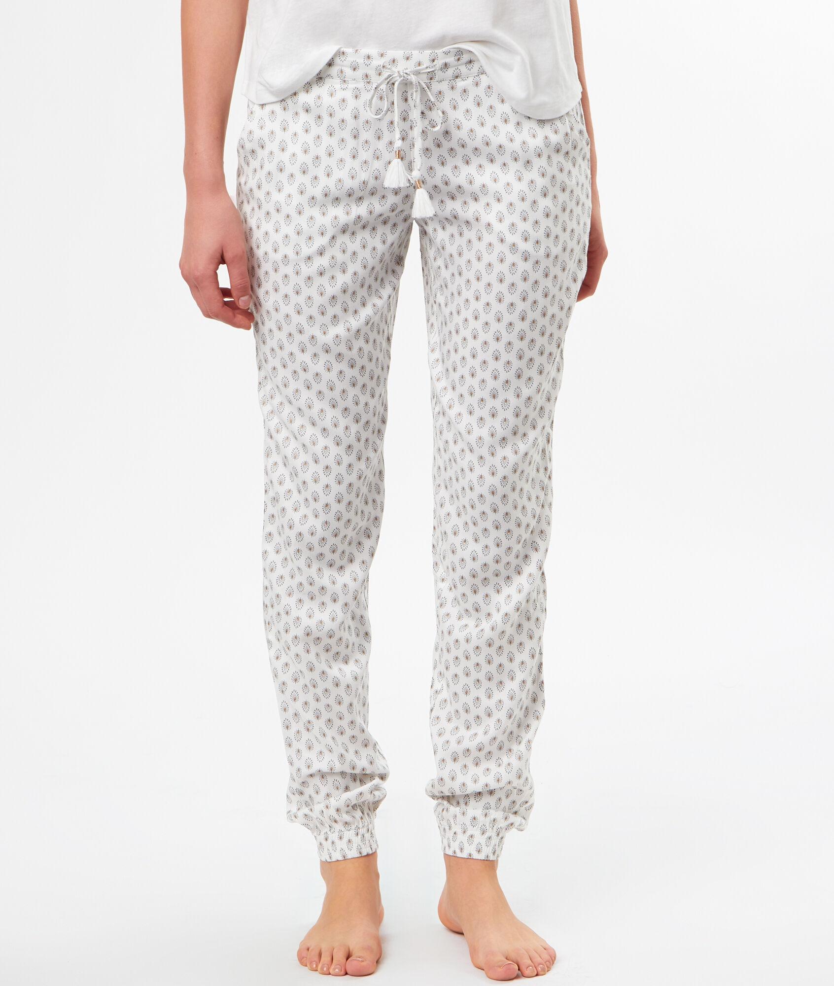 Imelie Pantalon Blanc Pantalon Etam Imprimé Imprimé twpP5xqYq a2980575e3f