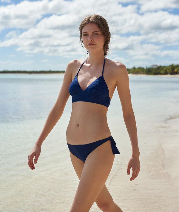 Bas de bikini brésilien à nouettes