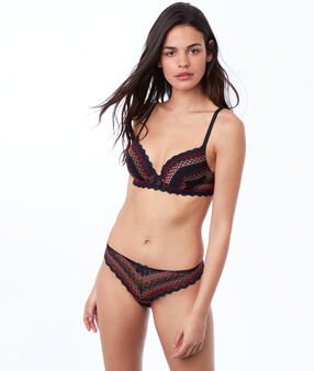 Soutien-gorge n°1 - magic up dentelle multicolore.