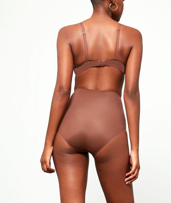Culotte taille haute - Niveau 3 : silhouette remodelée;${refinementColor}