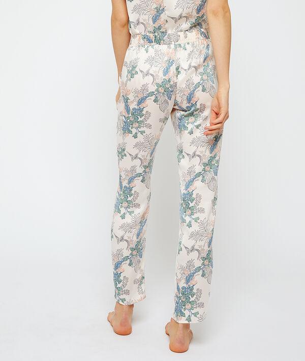 Pantalon de pyjama imprimé;${refinementColor}