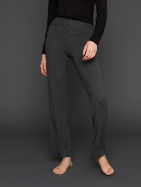 Pantalon homewear anthracite.