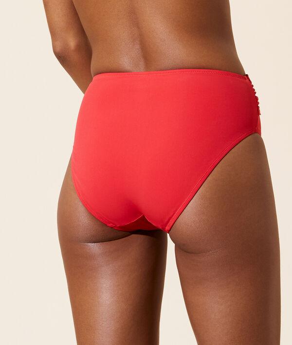Bas bikini taille haute;${refinementColor}