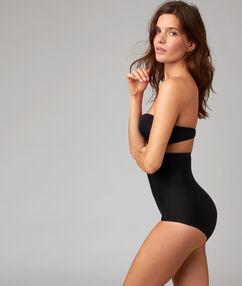 Culotte taille haute noir.