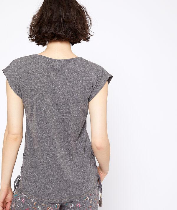 T-shirt à imprimé lune;${refinementColor}