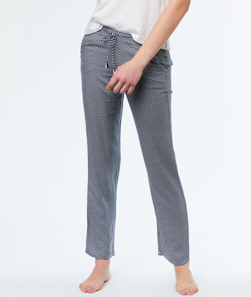 Pantalon micro imprimé