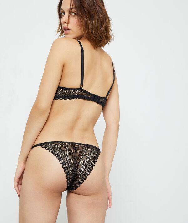 Culotte bikini en dentelle;${refinementColor}