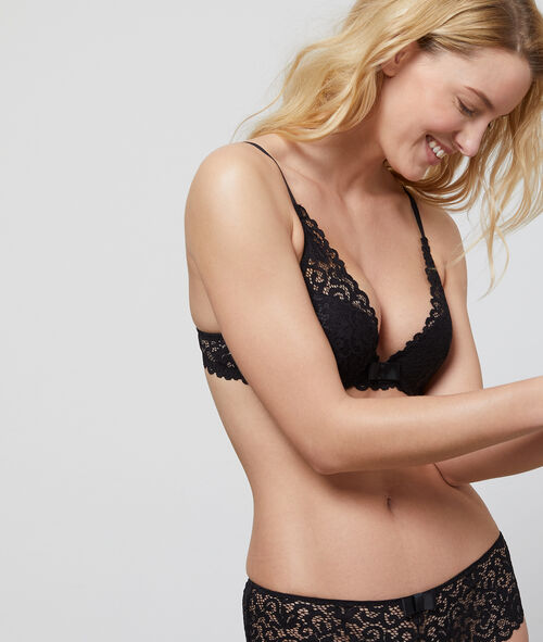 Soutien-gorge N°3 - Triangle push-up