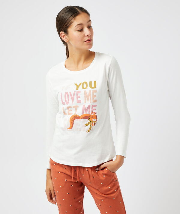 """T-shirt """"If you love me let me sleep"""";${refinementColor}"""