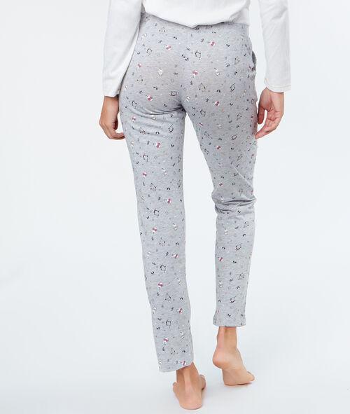 Pyjama 3 pièces Pingouins