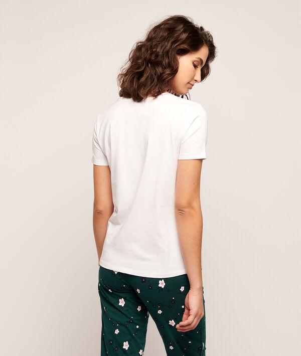 """T-shirt imprimé raquettes """"It's a MATCH"""";${refinementColor}"""