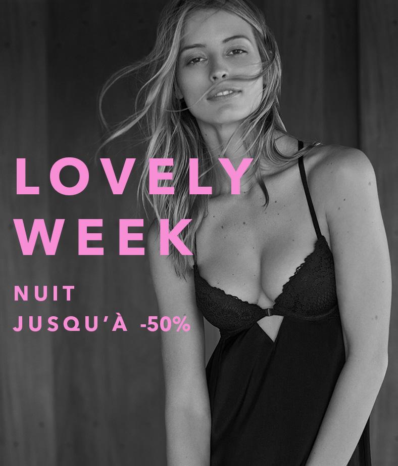 Lovely week nuit jusqu'à -50%