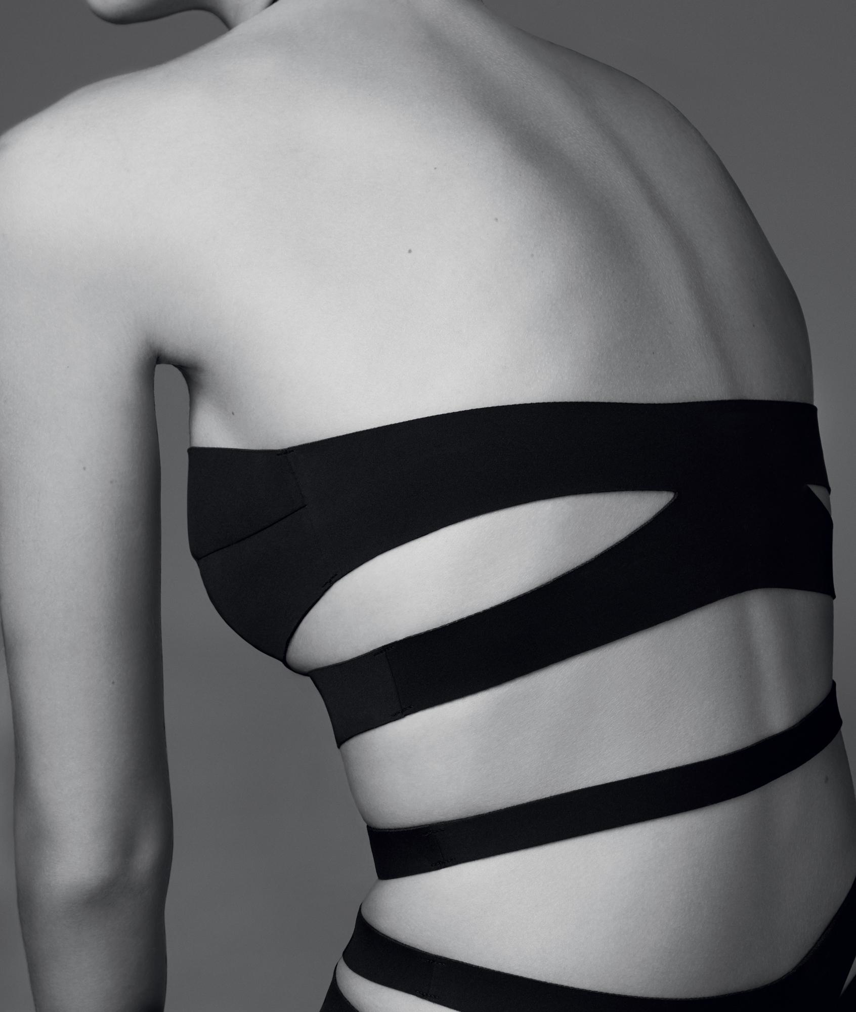 Body néoprène à lanières noir.